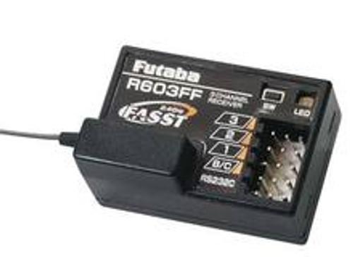 FUTABA R603FF 2.4G FASST RX 3 CHANNEL RECEIVER