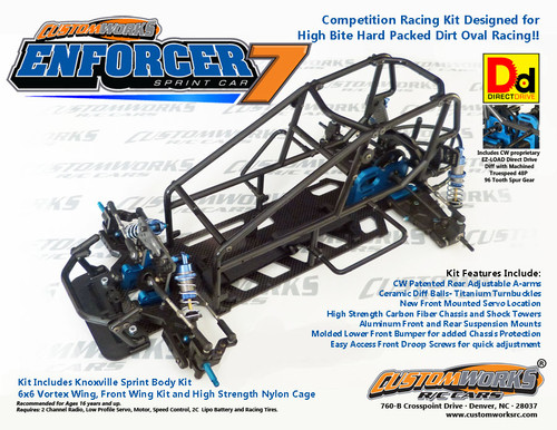 Custom Works Enforcer 7 Direct Drive Sprint Car Kit