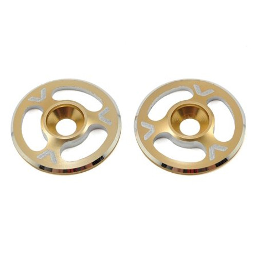 Triad Wing Buttons | Gold