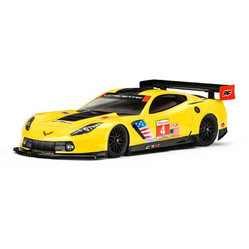 Protoform Chevrolet Corvette C7.R Touring Car Body (Clear) (190mm)