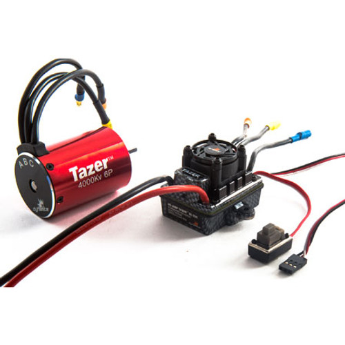 Dynamite Tazer 1/10 6-pole 4000Kv WP ESC/Motor Combo V2