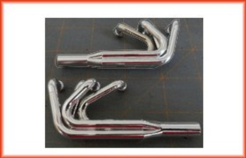 CDK RC Bodies Sprint Injection Molded Headers with hardware (Chrome)