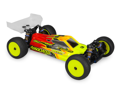 JConcepts S2 - B64/B64D BODY W/ Aero Wing (Clear)