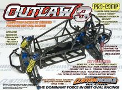 Custom Works RC Outlaw 3 Pro-Comp Sprint Car Kit (CSW0723