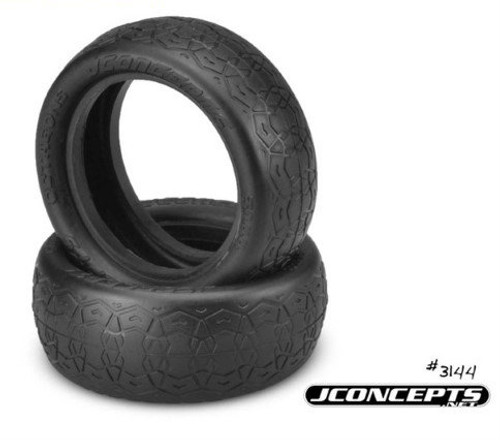 "JConcepts Octagons 2.2"" 4WD 1/10 Front Buggy Tires (2) (Gold)"
