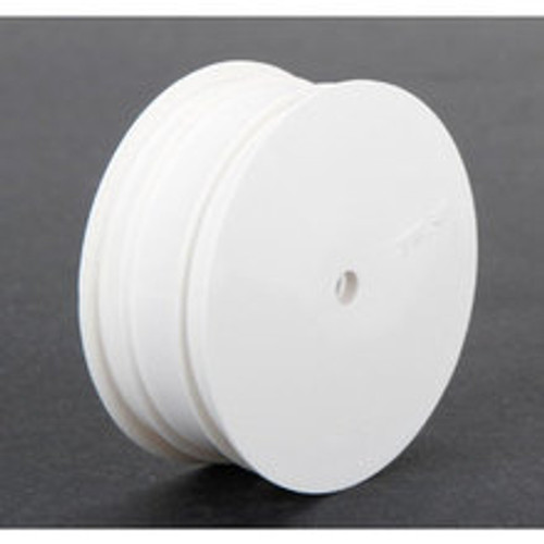 Team Losi Racing 12mm Hex Stiffezel Front 2WD Buggy Wheels (White) (2) (22 4.0) (TLR43017
