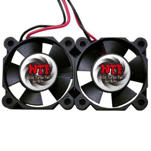 WTF Wild Turbo Fans Twin 30mm Ultra High Speed Fans