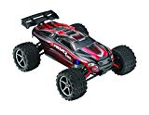 Traxxas E-Revo VXL 1/16 4WD Brushless RTR Truck (Red) w/TQi 2.4GHz Radio, TSM, Battery & DC Charger