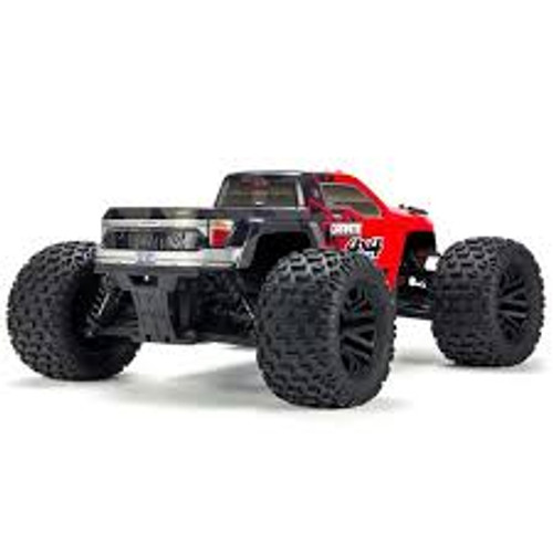 ARRMA 1/10 Granite 4x4 Mega Mnstr Truck RTR (Red/Black)