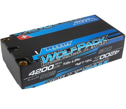 Reedy Wolfpack HV-LiPo 4200mAh 50C 7.6V Shorty