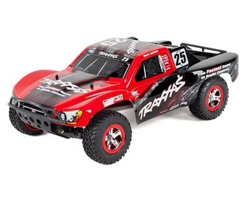 TRAXXAS Slash 1/10 RTR Short Course Truck w/XL-5 ESC, TQ 2.4GHz Radio, Battery & DC Charger (Mark Jenkins Edition) W/AC Charger (TRA58034-5-MARK)