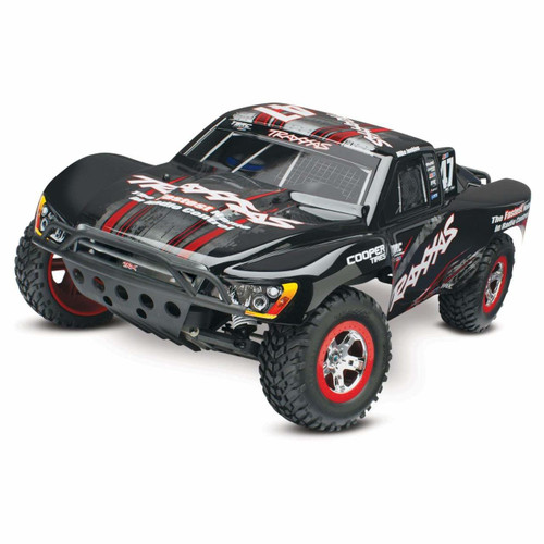 TRAXXAS Slash 1/10 RTR Short Course Truck w/XL-5 ESC, TQ 2.4GHz Radio, Battery & DC Charger (Mike Jenkins Edition) W/AC Charger (TRA58034-5-MIKE)