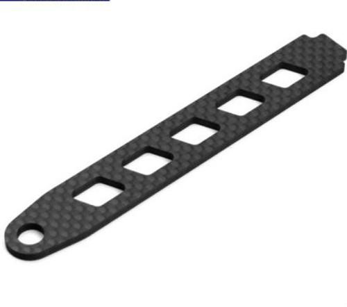 Tekno RC EB410 Carbon Fiber Battery Strap (TKR6503C)