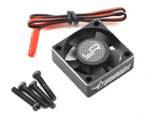 "Yeah Racing 30x30x10mm Aluminum ""Tornado Plus"" High Speed Cooling Fan (YEA-YA-0472BK)"