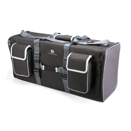 Racers Edge The RaceCase Short Course Hauler Bag with 2 Drawers, Silver Edition
