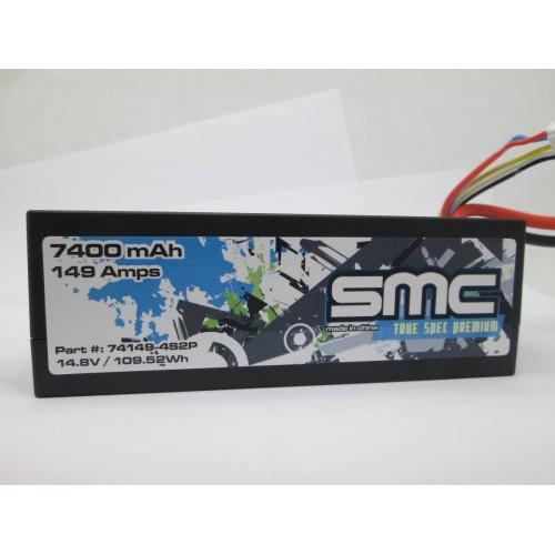SMC True Spec Premium 14.8V 7400mAh 149Amps/90C Extended Capacity (74149-4S2PD)