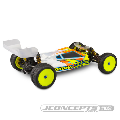 JConcepts P2 Yokomo YZ-2 DTM High Speed Body W/Aero Wing (Clear)