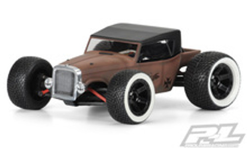 Pro-Line Rat Rod Mini Body (Clear) (1/16 E-Revo) (PRO3396-00)