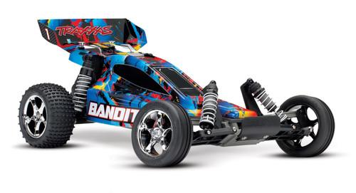 Traxxas Bandit 1/10 RTR 2WD Electric Buggy (Rock n Roll) w/XL-5 ESC & TQ 2.4GHz Radio (TRA24054-4)