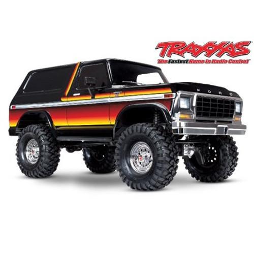Traxxas TRX-4 1/10 Trail Crawler Truck w/'79 Bronco Ranger XLT Body (Sunset) w/TQi 2.4GHz Radio