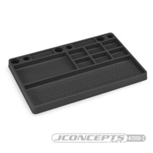JConcepts Parts Tray (Black) (JCO2550-2)
