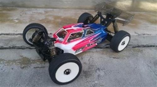 Leadfinger Racing A2 Tactic body (clear) Tekno EB48.4 (LFRN3043)