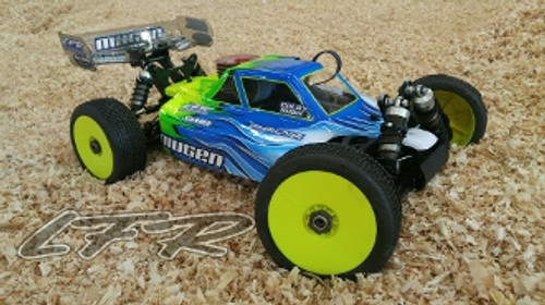 Leadfinger Racing A2 Tactic body (clear) for Mugen MBX8 nitro/eco buggy (LFRN2012)