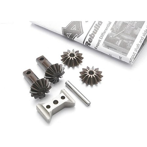 Traxxas Revo Gear set, differential (output gears (2)/ spider gears (2)/ spider gear shaft (TRA5382X)