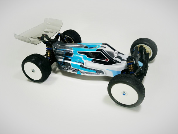 Leadfinger Racing A2 Tactic body w/ 2 wing set for AE RC10B6.1