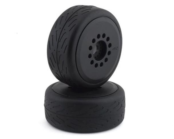 JConcepts Speed Fangs Belted Tire Pre-Mounted w/Cheetah Speed-Run Wheel (Black) (JCO3113-39)