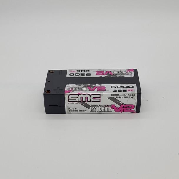 SMC True Spec Extreme Graphene V2 7.4V 5200mAh 120C Shorty 5mm Inboard
