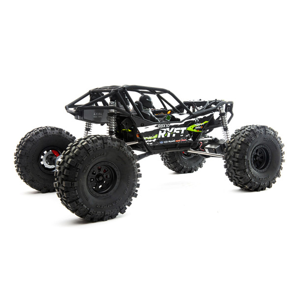Axial 1/10 RBX10 Ryft 4WD Brushless Rock Bouncer (RTR) (Black)