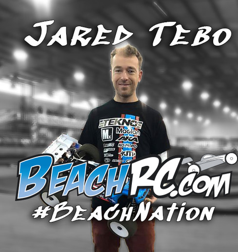 Jared Tebo Joins The BeachRC.com #BeachNation Race Team
