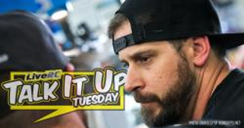 Brent Densford featured in LiveRC.com's Talk It Up Tuesday