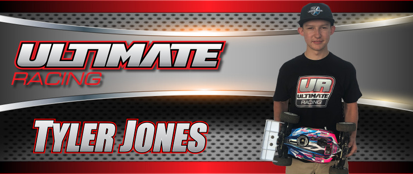 Tyler Jones to Join the Ultimate Racing BeachRC.com team effective immediately and beyond.