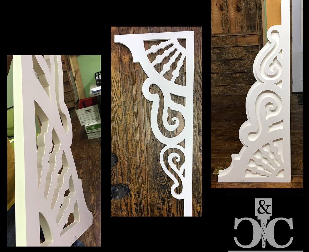 HOME PORCH BRACKETS