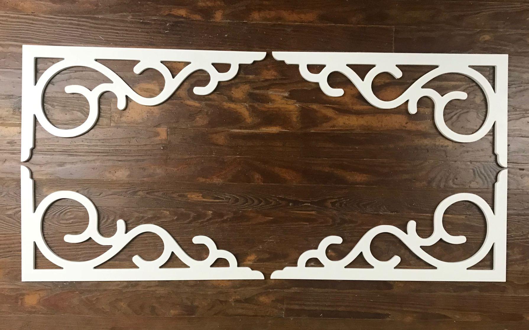 WHITE PVC BRACKETS