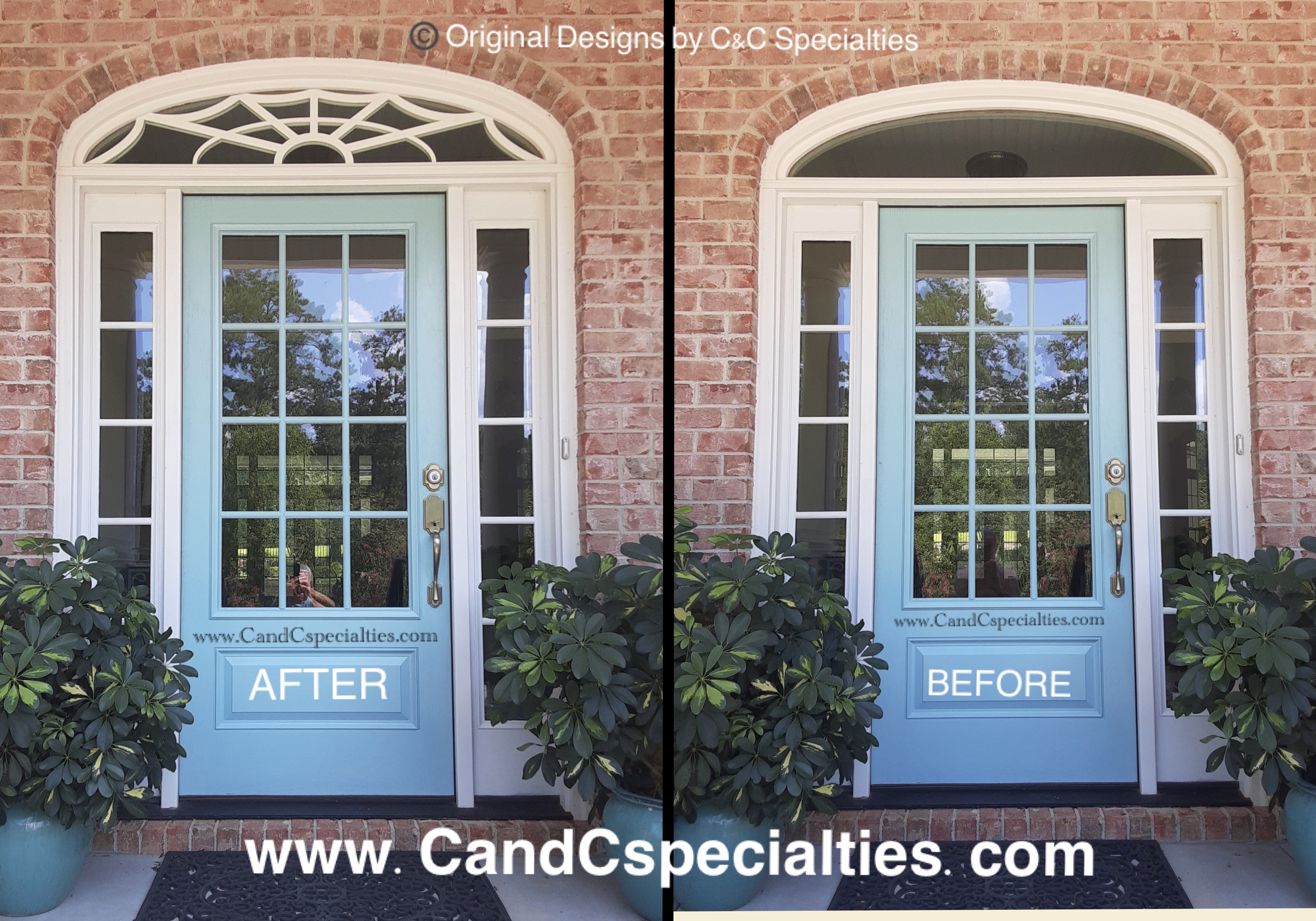 TRANSOM BEFORE & AFTER