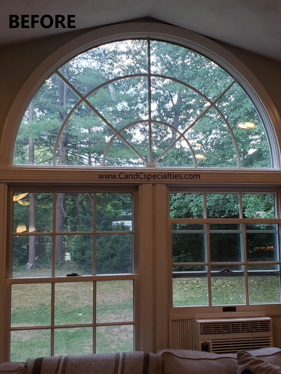 WINDOW TRANSOM BEFORE