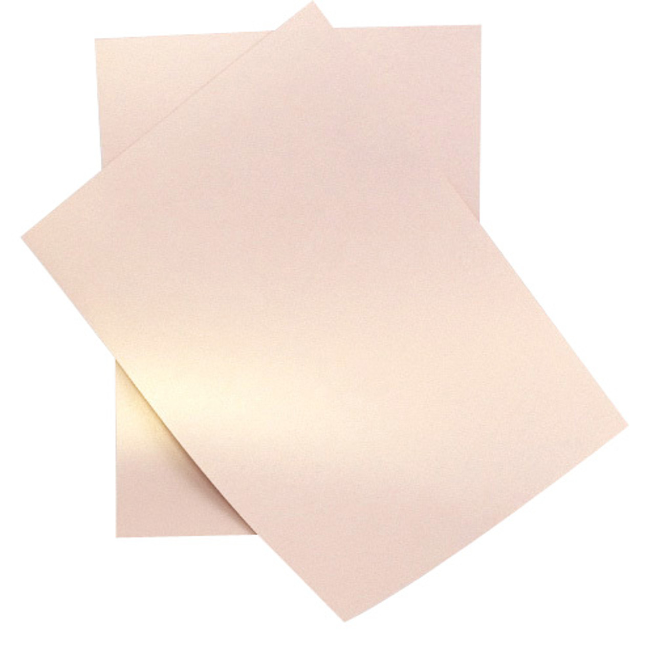 Pearlised 120gsm Ice White Double Sided Shimmer Paper
