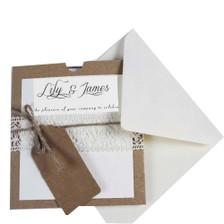 DIY Pocketfold Card Wedding Invitations