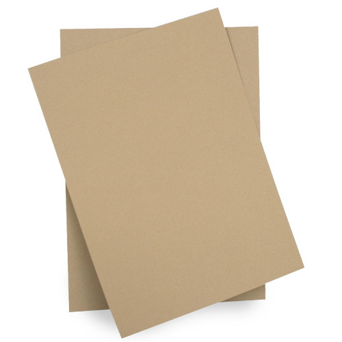 A4 Card, Light Brown Matte