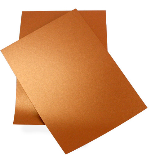 Wholesale Box, A4 Copper Pearl Card (250 pack)