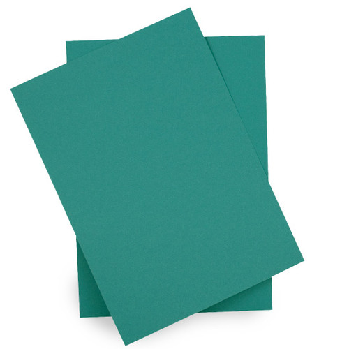 A6 Card Sheets, Teal Green Matte (50 pack)