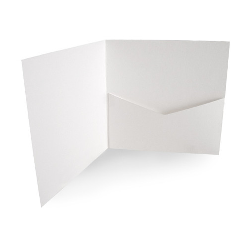 Pocketfold Cards with Envelopes, White Matte 300gsm