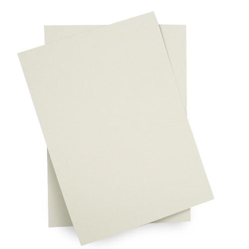 A6 Pale grey card sheets