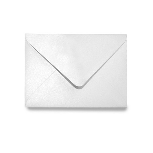 C6 Envelopes, Ice White Pearl