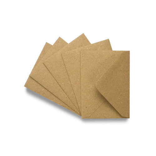 Wholesale box, C7 Small Mini Brown Kraft Envelopes (1,000)