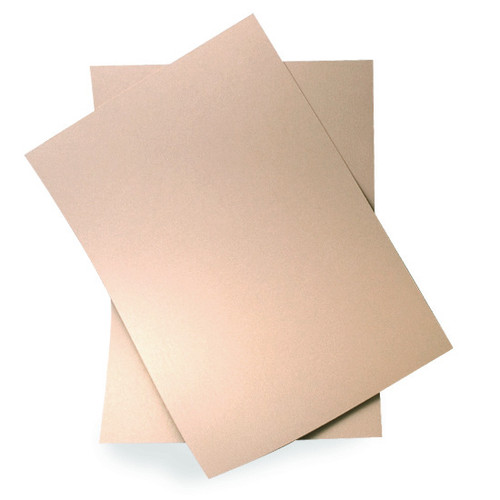 A6 Nude pearl card sheets