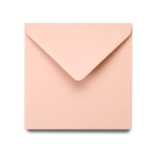 Square Envelopes 155mm, Rose Gold Matte